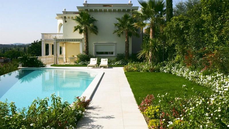 Giardini design progettazione realizzazione paghera for Arredo ville e giardini